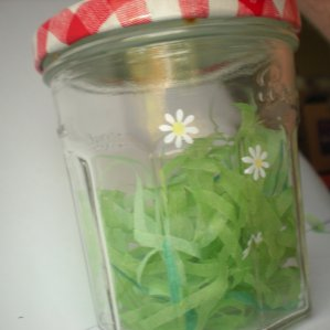 WonkyGiraffe BonMaman Jar